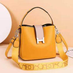 JTF88071A-yellow Tas Selempang Wanita Elegan Import Terbaru