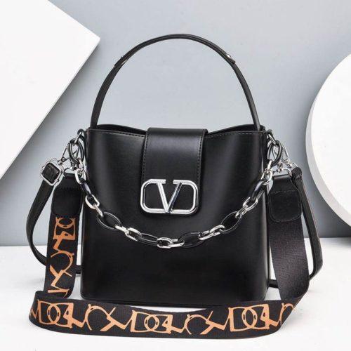 JTF88101-black Tas Handbag Selempang Wanita Cantik Import