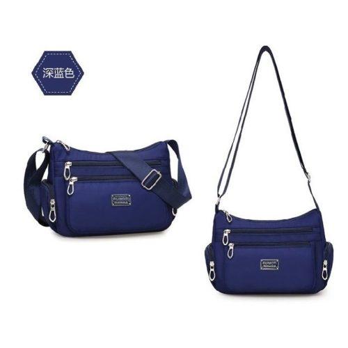 JTF8890-blue Tas Selempang Casual Wanita Cantik Import