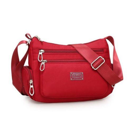 JTF8890-red Tas Selempang Casual Wanita Cantik Import