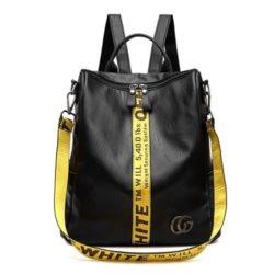 JTF8908-yellow Tas Ransel Fashion Modis Wanita Cantik Terbaru