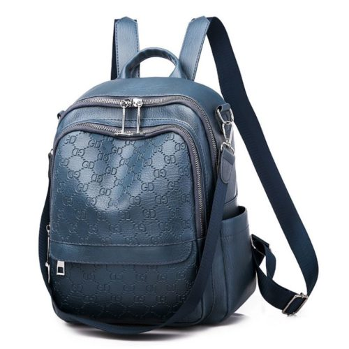 JTF8995-blue Tas Ransel Stylish Fashion Wanita Terbaru