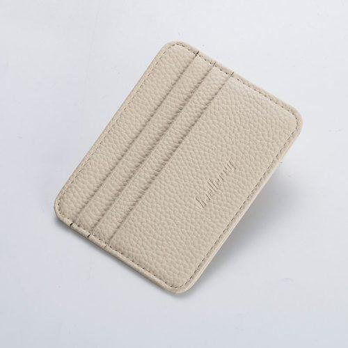 JTF9106-beige Dompet Card Holder BAELLERRY Import Cantik