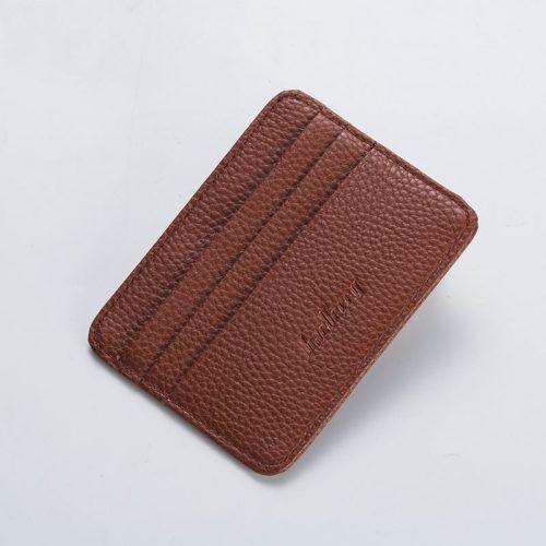 JTF9106-brown Dompet Card Holder BAELLERRY Import Cantik