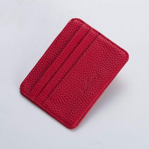 JTF9106-red Dompet Card Holder BAELLERRY Import Cantik