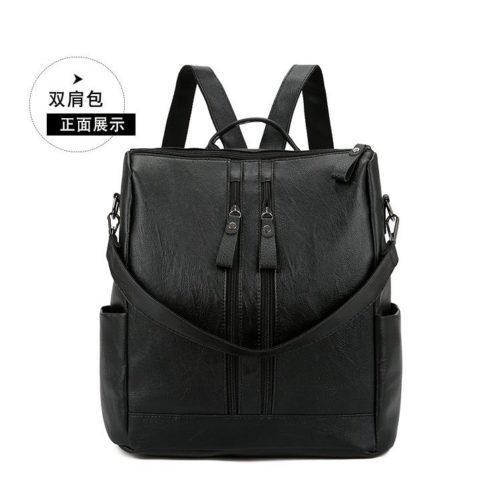 JTF911-black Tas Ransel Stylish Modis Kekinian Import