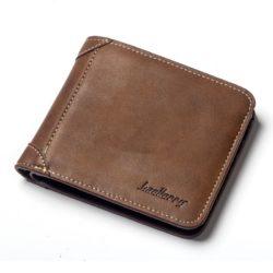 JTF9150H-brown Dompet Lipat Pria Baellerry Modis Terbaru