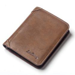 JTF9150V-brown Dompet Lipat Pria Baellerry Modis Terbaru