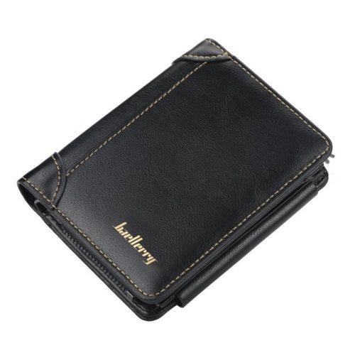 JTF9156-black Dompet Lipat Baellerry Pria Keren Terbaru