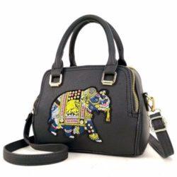 JTF91667-black Tas Handbag Selempang Wanita Modis Import