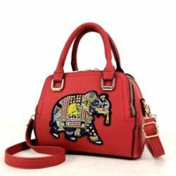 JTF91667-red Tas Handbag Selempang Wanita Modis Import