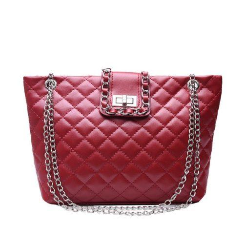 JTF9502-red Tas Selempang Fashion Import Wanita Terbaru