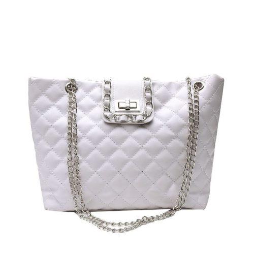 JTF9502-white Tas Selempang Fashion Import Wanita Terbaru