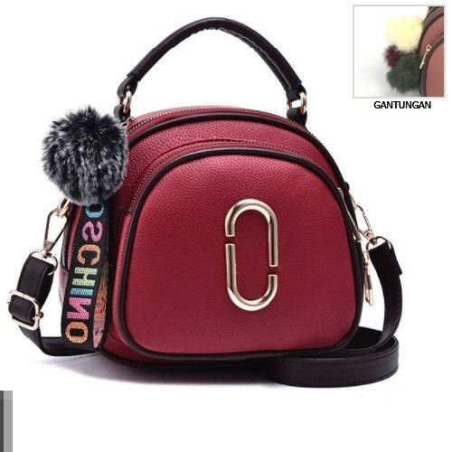 JTF97658 IDR.79.000 MATERIAL PU SIZE L20XH18XW8CM WEIGHT 550GR COLOR RED