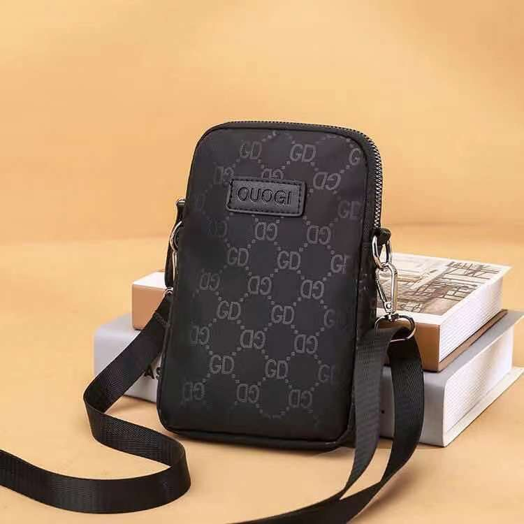 JTF9935-black Tas Sling Bag Handphone GD Stylish Wanita Cantik