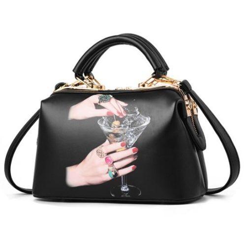 JTF99872-hand Doctor Bag Wanita Elegan Cantik Import