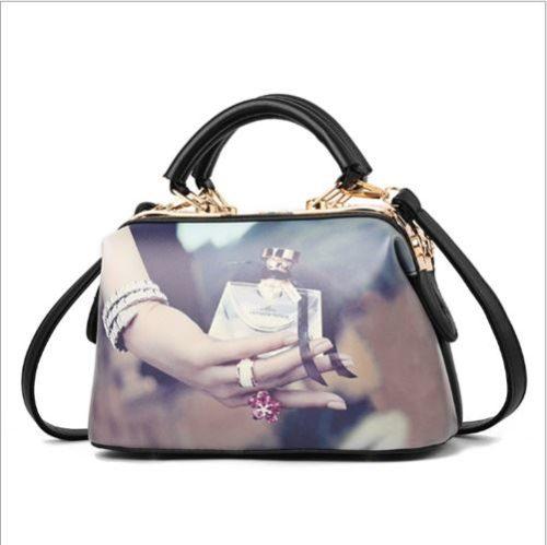 JTF99872-perfume Doctor Bag Wanita Elegan Cantik Import