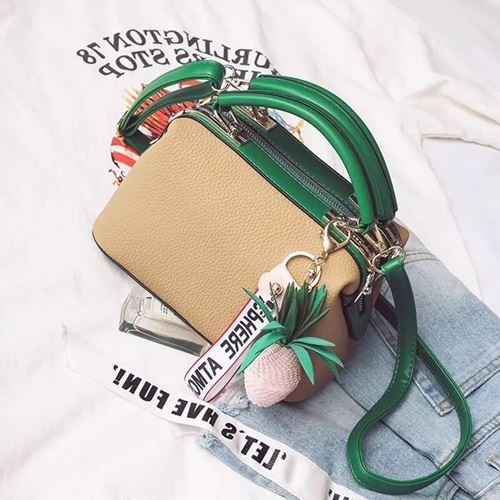 JTF998746 IDR.89.000 MATERIAL PU SIZE L25XH15XW13CM WEIGHT 700GR COLOR KHAKI
