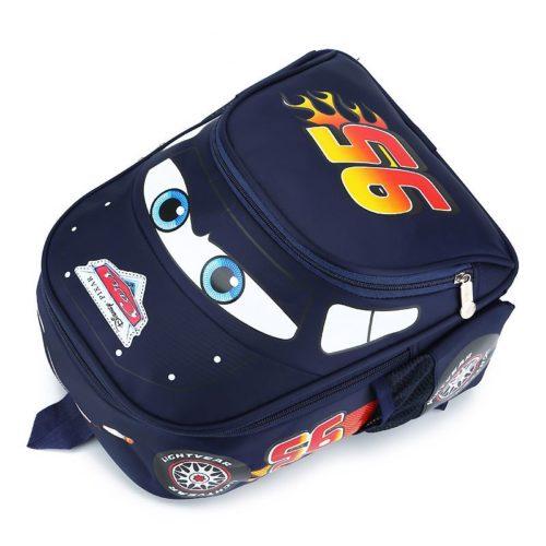 JTF999-darkblue Tas Ransel Anak Keren Motif Cars