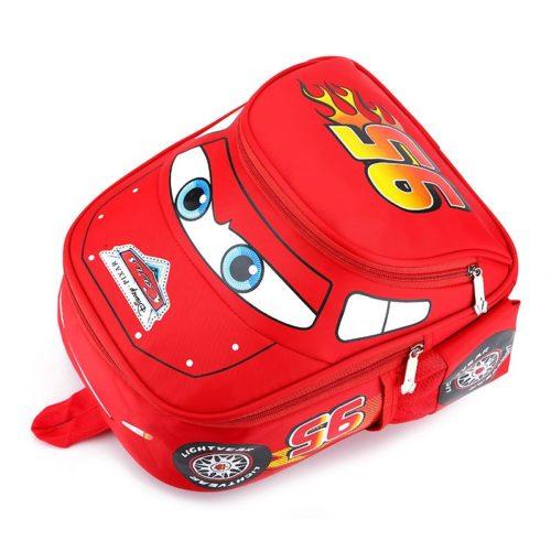 JTF999-red Tas Ransel Anak Keren Motif Cars