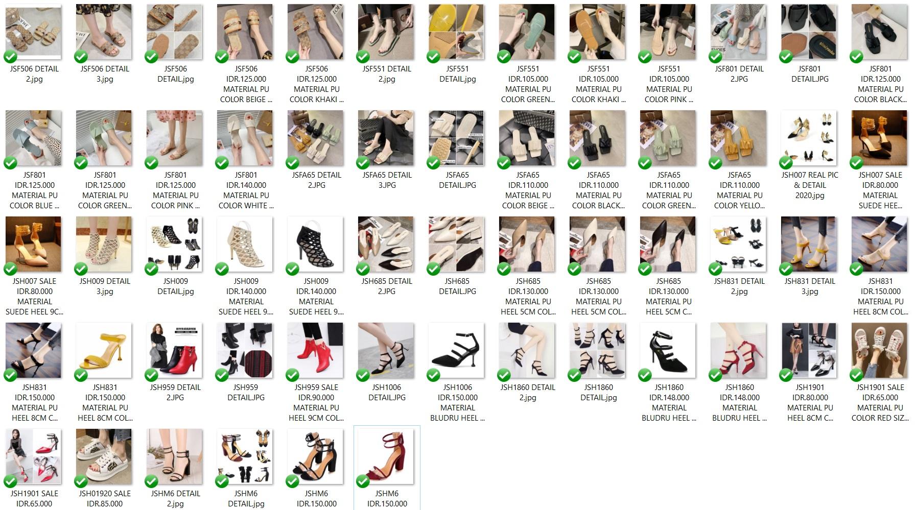 Katalog Shoes Tas.ID 30 - Sale