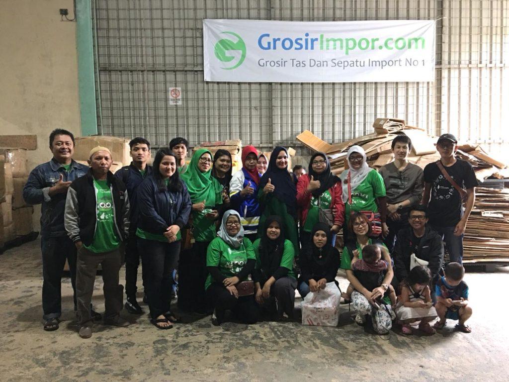 Kunjungan Seller Tokopedia ke Gudang GIC