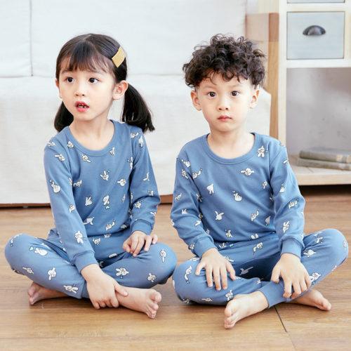 PJ071-scissorhand Baju Tidur Set Anak Motif Karakter Unisex