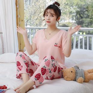 PJ4603-pinkstrawberry Baju Tidur Wanita Cantik Nyaman Import Terbaru