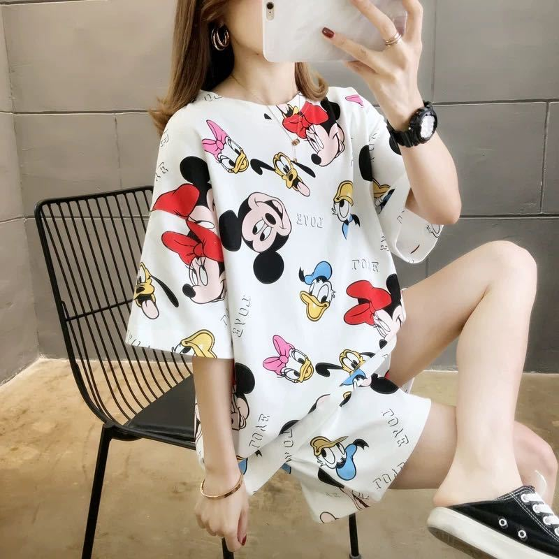 PJ4606 IDR.58.000 MATERIAL MILKSILK SIZE M,L,XL WEIGHT 200GR COLOR WHITEMICKEY