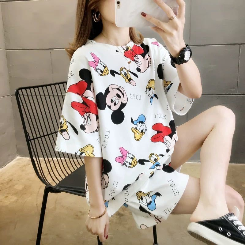 PJ4606 IDR.58.000 MATERIAL MILKSILK SIZE XL WEIGHT 200GR COLOR WHITEMICKEY