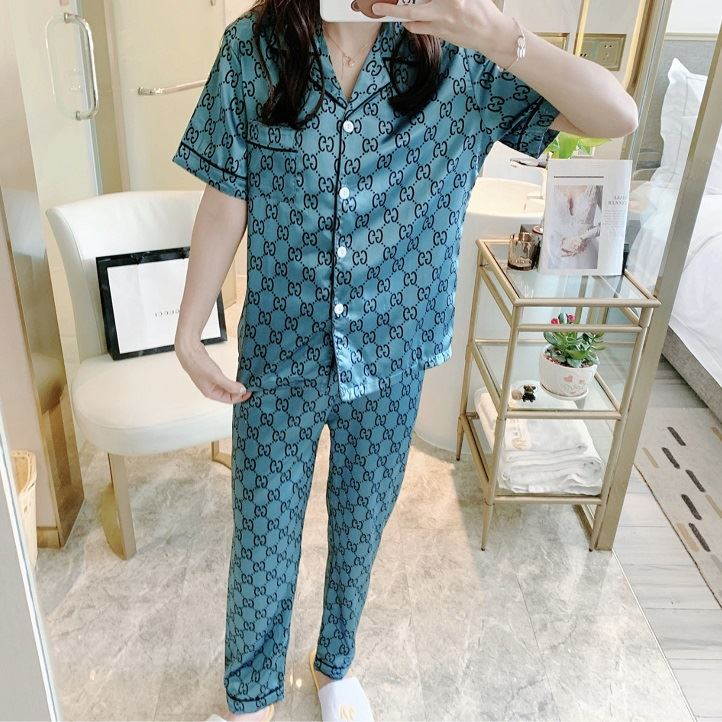 PJ4607 IDR.95.000 MATERIAL ICESILK SIZE L,XL WEIGHT 200GR COLOR BLUECC