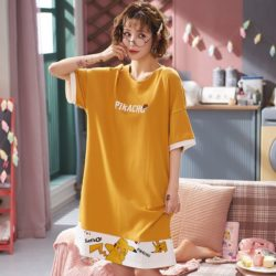PJ4615-womanyellow Baju Santai Couple Comfy Woman