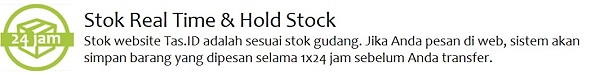 Stok real time update - Tas.ID