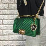 Tas VALENS Jelly Bag Branded Wanita Fashion Import - JADE GREEN CLUTCH