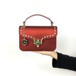 Tas VALENS Jelly Bag Branded Wanita Fashion Import - MAROON HANDBAG